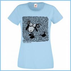 Koszulka damska owca mglista