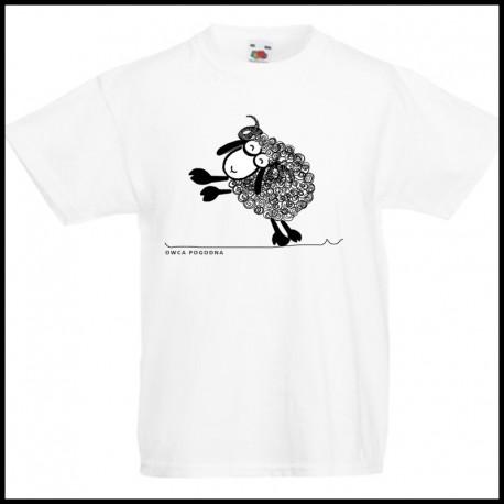 Koszulka dla dzieci Owca pogodna
