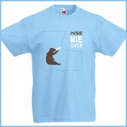 Koszulka dla dzieci Misie nie chce