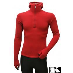 Bluza z kapturem i łapkami Power Stretch Pro unisex 080040