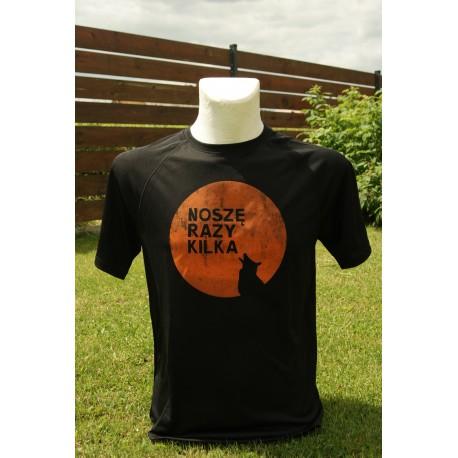 Koszulka termoaktywna męska  NOSZĘ RAZY KILKA S