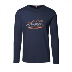 longsleeve men W GÓRACH navy Intrelock 0518