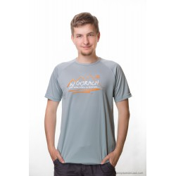 koszulka termoaktywna men W GÓRACH SZARA