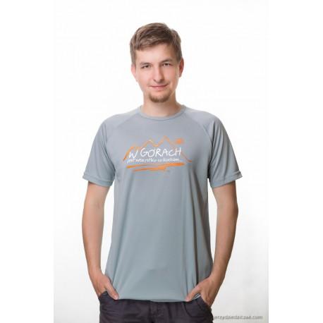 koszulka termoaktywna męska W GÓRACH SZARA