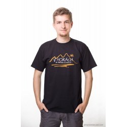 koszulka męska V HORACH czarna S