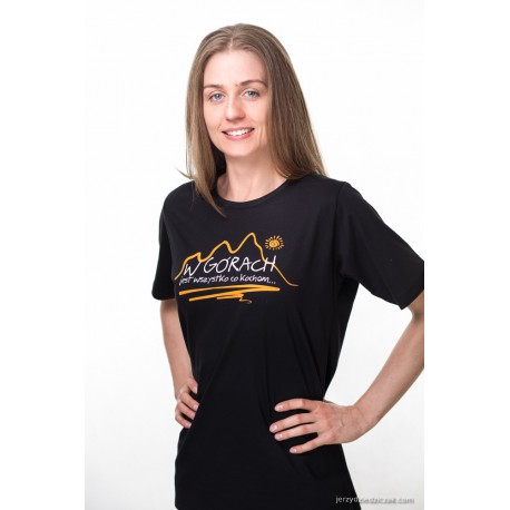 Koszulka damska W GÓRACH T-Time czarna