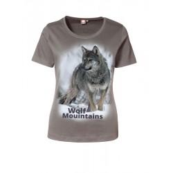 Koszulka men Wolf Mountains termoaktywna