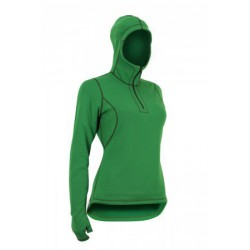 Bluza damska z kapturem i łapkami Power Stretch Pro