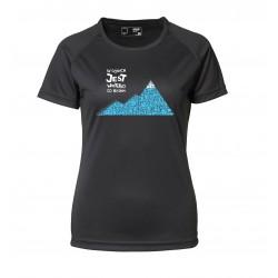 Koszulka termo lady W GÓRACH 2013 czar N S