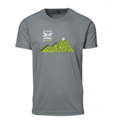 Koszulka termoaktywna męska W GÓRACH 2013 szara