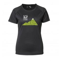 Koszulka termoaktywna damska W GÓRACH 2013 czarna