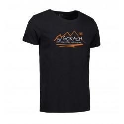 Koszulka męska W GÓRACH czarna ID 0540