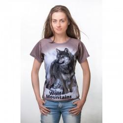Koszulka termoaktywna Wolf Mountains lady