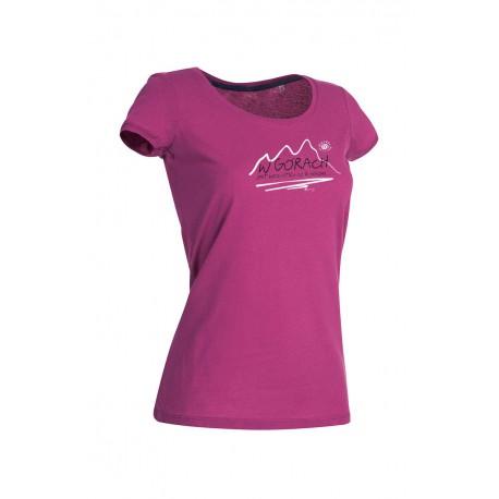 Koszulka damska W GÓRACH fioletowa