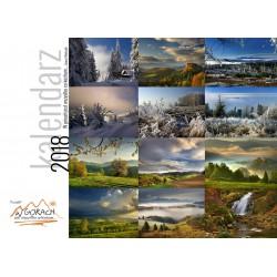 Kalendarz Janusz Wańczyk - Poziomy - W górach 2018