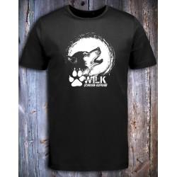 koszulka czarna WILK