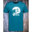 koszulka  niebieska WILK