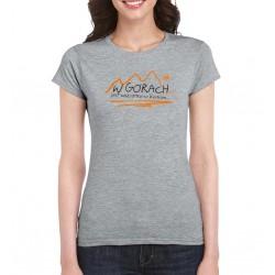 Koszulka damska W GÓRACH sport grey S