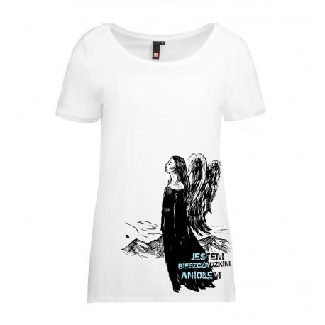Koszulka damska BIESZCZADZKI ANIOŁ