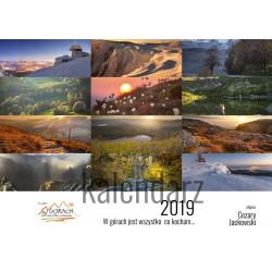 Kalendarz Cezary Jackowski- Poziomy - W górach 2019