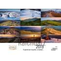Kalendarz Mateusz Stawarz - W górach 2019 - Bieszczady poziomy
