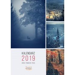 Kalendarz Cris Froese- Pionowy - W górach 2019