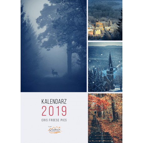 Kalendarz Cris Froese- Pionowy - W górach 2018