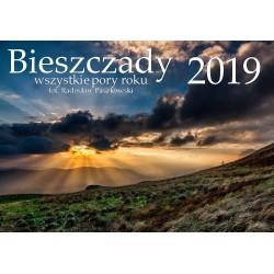 Kalendarz BIESZCZADY 2019 Radosław Paszkowski