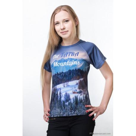 Koszulka termoaktywna Tatra Mountains lady