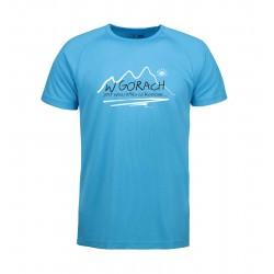 Koszulka termoaktywna męska W GÓRACH niebieska