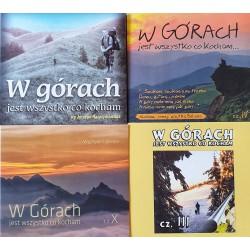Zestaw 10 CD W górach jest wszystko co kocham