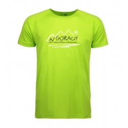 koszulka termoaktywna męska W GÓRACH lime S