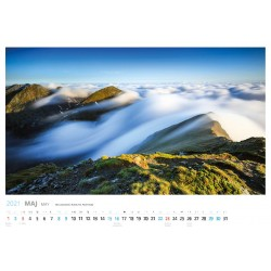Kalendarz Tatry i Pieniny 2021