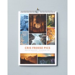 Kalendarz Cris Froese - pionowy 2021