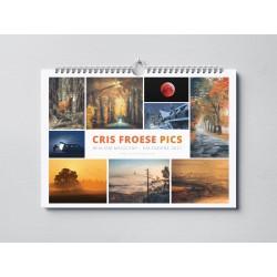 Kalendarz Cris Froese - poziomy 2021