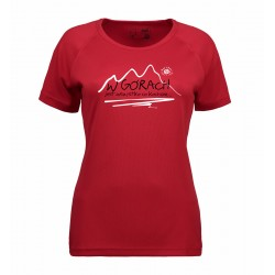 koszulka termoaktywna damska W GÓRACH red S