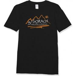 Koszulka męska W GÓRACH czarna