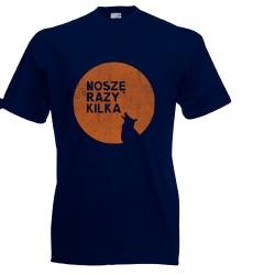 Koszulka dla dzieci Noszę razy kilka (oranżowy wilk)
