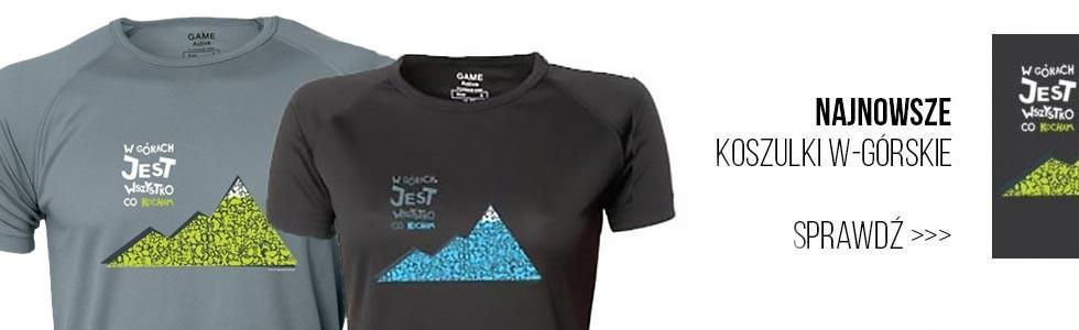 Koszulki W górach jest wszystko co kocham....